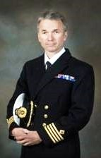 Captain Chris Clarke RFA