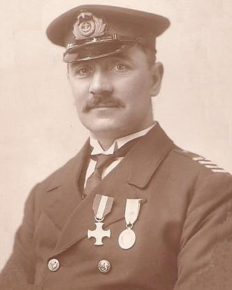 Captain Fred Gething