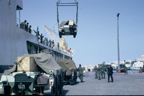 Lift it onboard at Tobruk