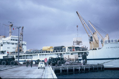 mv Sir Tristram at Tobruk