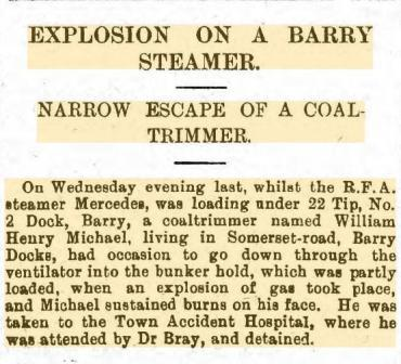 Barry Dock News 1910