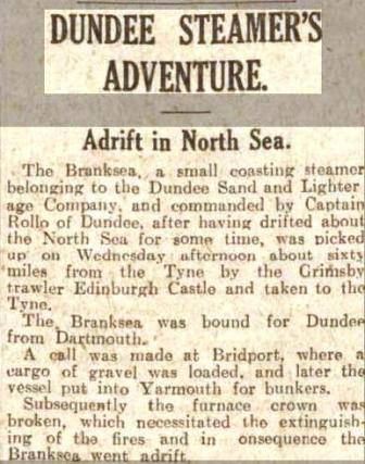 Branksea - Growler 1 - Press Cutting