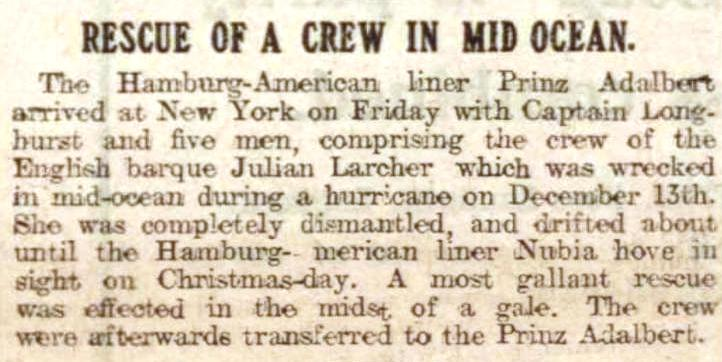 Cornishman 12 Jan 1905