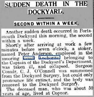 Ports Even News 21 June 1926