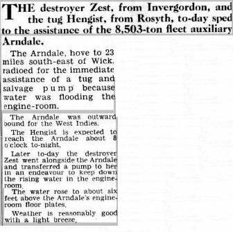 Press Cutting 19 1 52 Arndale Ports Even News