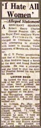 Press Cutting 19.1.49 Hull Daily Mail
