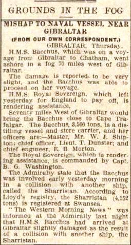Press Cutting BAcchus 1