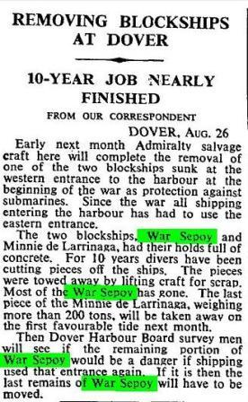 Press Report The Times 27 August 1960