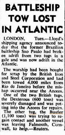 Press Report Western Australian 7 Nov 1951