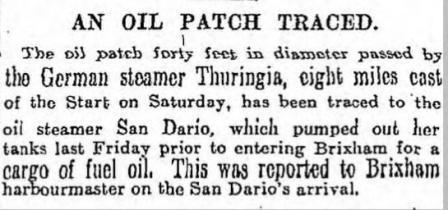 Teakol San Dario Oil The Scotsman 17 11 1925