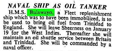 Times News Report 1948 Bulawayo