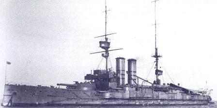 HMS Commonwealth 1903 in 1907 1908