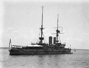 HMS IMPLACABLE WW1