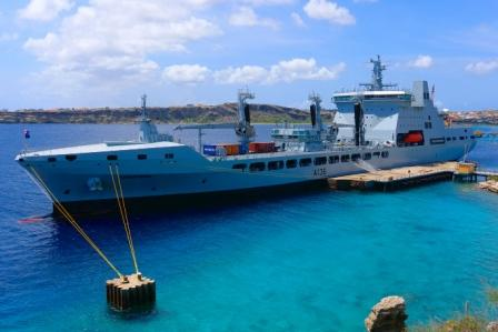 TSPRING alongside at Curacao 2
