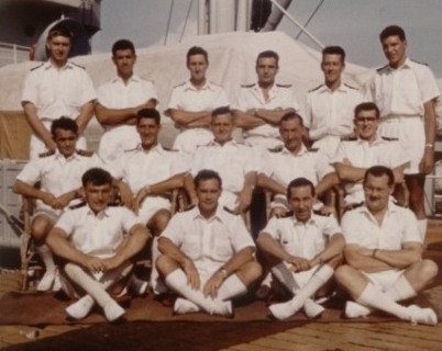 Wave Master Officers 1962 Sigapore