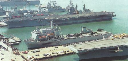 ARGUS at Norfolk VA USA alongside 1996