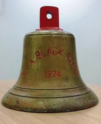 Black Rover Ships Bell