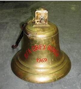 Grey Rovers bell