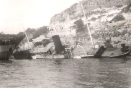 1.2 Gozo Ferry on the Rocks
