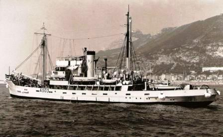 RFA SEA SALVOR Gib