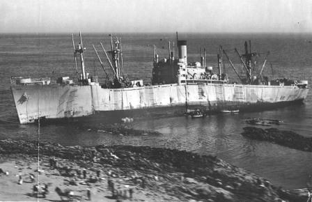 ss georgetown victory 5 aground
