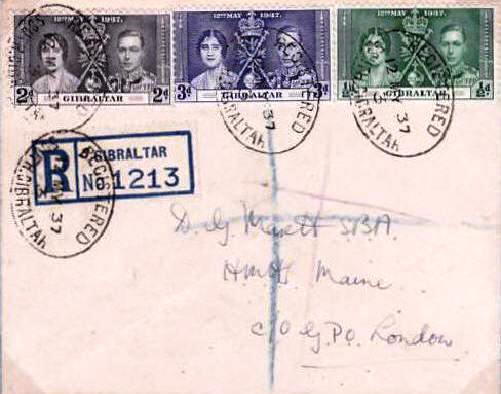 RFA Maine 3 on stamps
